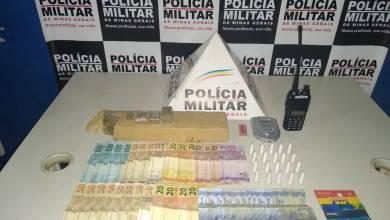 Foto de Homem é preso por tráfico de drogas no Rosário em Ponte Nova