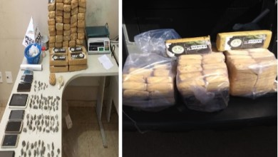 Photo of PM realiza operação e apreende grande quantidade de drogas em Ubá