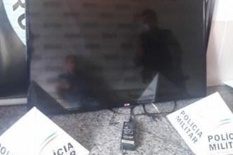 Photo of Homem é preso após furtar televisão da casa de sua mãe no Nova Era