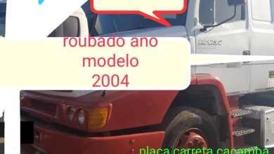 Photo of Carreta estacionada próximo a posto de combustível é furtada em Teixeiras