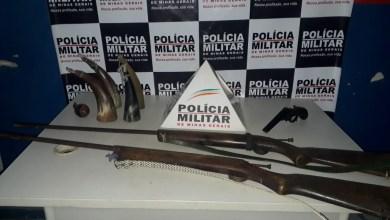 Photo of PM apreende 03 armas de fogo na zona rural de Ponte Nova