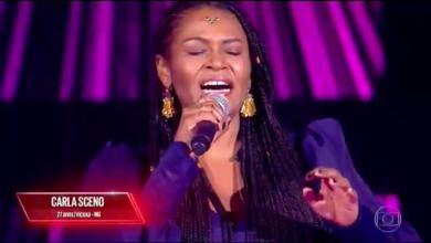 Foto de Cantora de Viçosa participa do The Voice Brasil na TV Globo