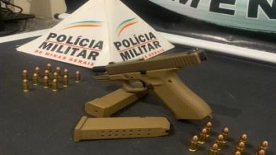 Foto de Homem é preso com arma em aglomeração em praça de São Miguel do Anta