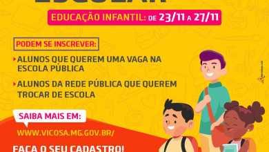 Foto de Cadastramento para educação infantil começa na próxima segunda (23)
