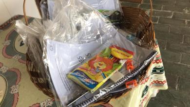 Foto de Idosos do Programa da Terceira Idade de Viçosa recebem kits para atividades em casa