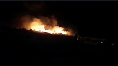 Foto de Incêndio de grandes proporções atinge confecção em Ervália; veja vídeos