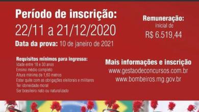 Foto de Concurso Bombeiros MG: EDITAIS PUBLICADOS! Inscrições abertas!