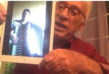 Foto de Moacyr Franco exibe vídeo de músico Ageu Quintiliano de Ponte Nova