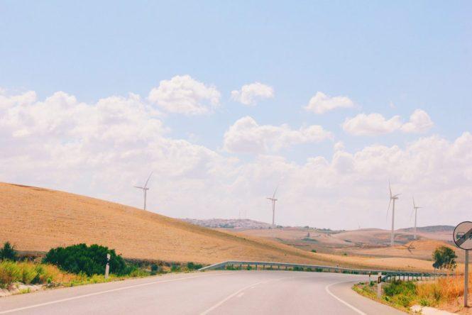 Rota dos pueblos blancos, na Andaluzia, Espanha