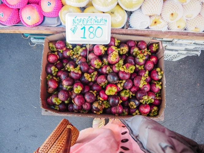 Mangostin - O que comer em Bangkok