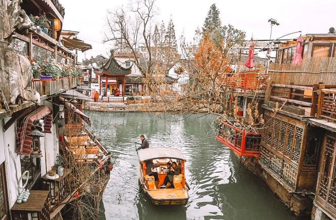 O que fazer em Xangai - cidade aquática Zhujiajiao 8