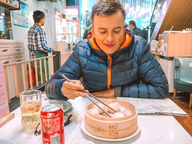 O que fazer na China - comer muitos dumplings