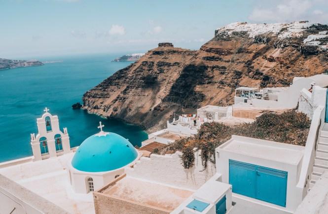 Santorini - vista de Phira