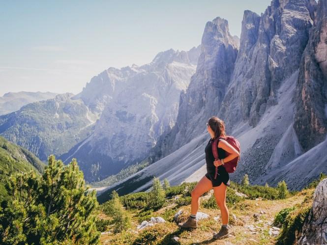 Tre Cime - Trilha nos Alpes italianos, Dolomitas