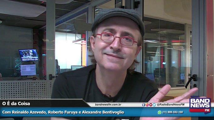 Reinaldo Azevedo não foi demitido