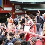 日枝神社の2019節分祭(豆まき)はいつ?芸能人は誰がくるのか?