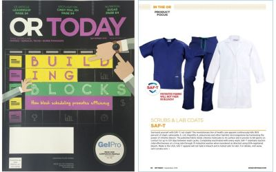 Prime Medical Scrubs and Lab Coats Featured in OR Today Magazine