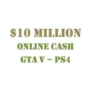 $10 Million Online Cash GTA 5 PS4