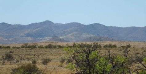 Along the Geronimo Trail National Scenic Byway