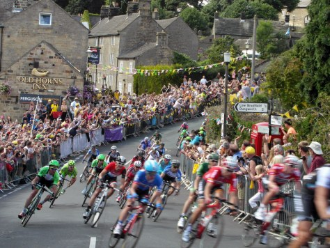 Tour de France in Upper Bradfield