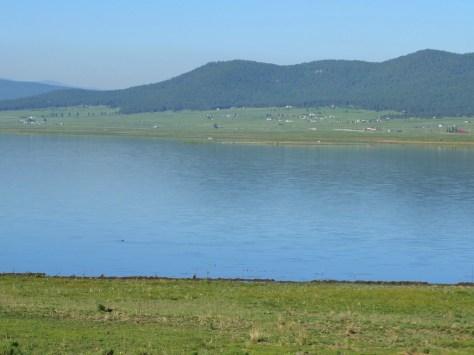 Morning view across Eagle Nest Lake