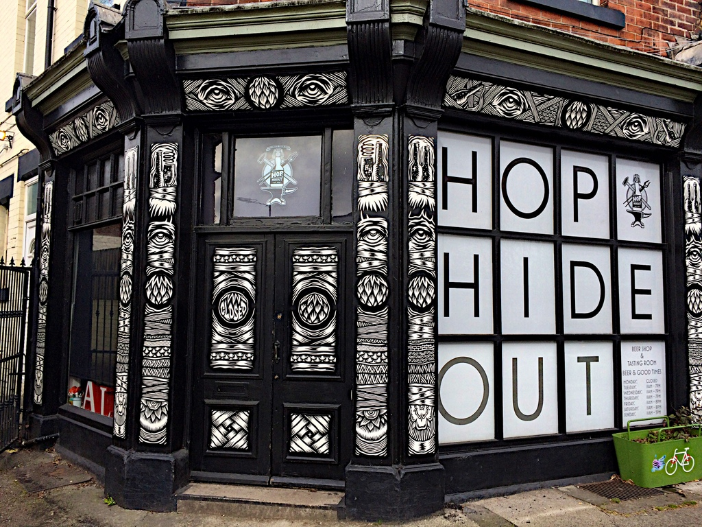 Hop Hide Out beer shop and tap room