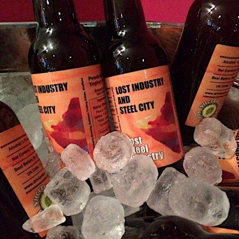 Live beer blogging - Lost Industry Lost Steel Industry - Peach Melba Yoghurt Sour