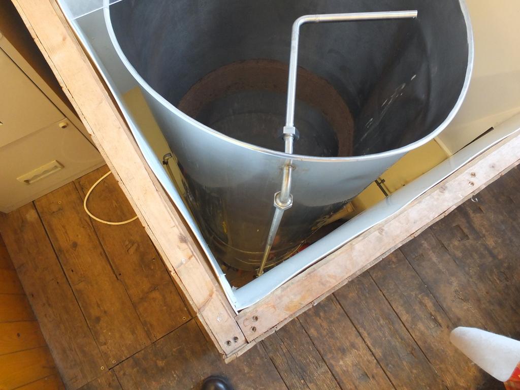Sheffield Brewery fermenter stack