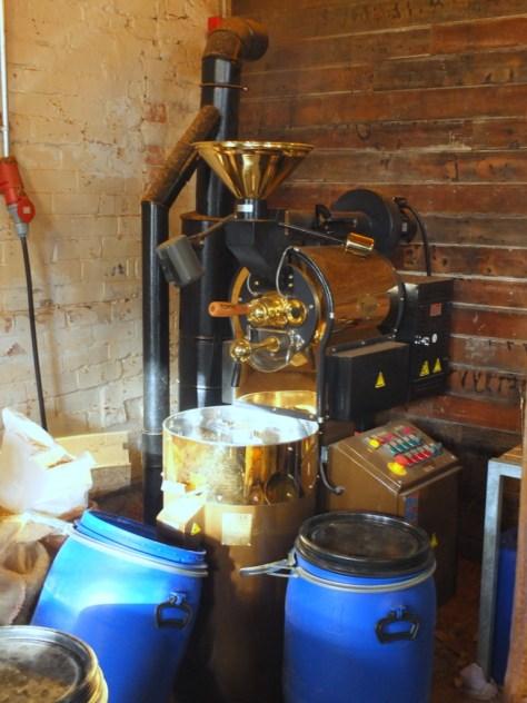 True North Brewing Company coffee roaster