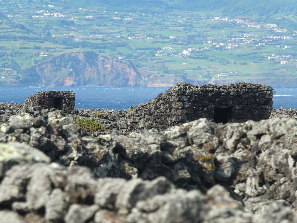 Faial Island in the distance