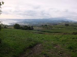 View to Ponta Delgada