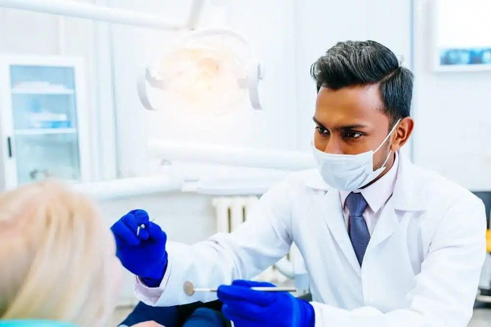 Indian dentist