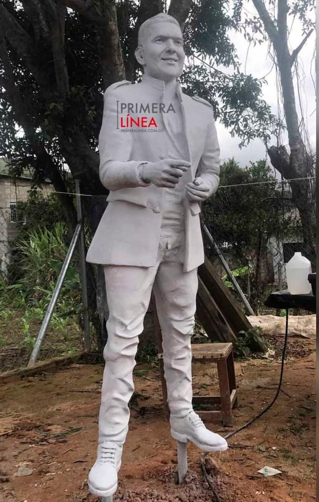 Estatua de Peter Manjarres