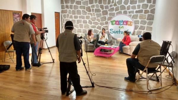 SMRTV filmacion mamas en sintonia