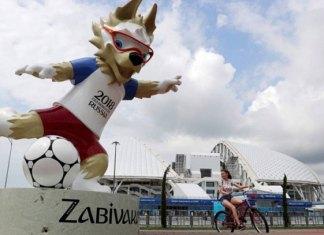 Roban segunda estatua de la mascota del Mundial 2018