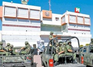 Sedena desplegó 52 mil 807 soldados en 2017