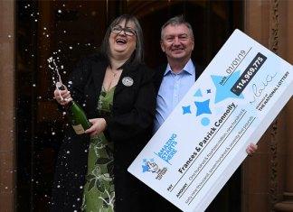Pareja Irlandesa gana 146 millones de dólares en la lotería
