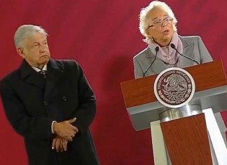 Anuncia Sánchez Cordero la liberación de 16 'presos políticos'