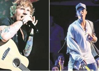 "Ed Sheeran y Justin Bieber cantarán ""I don't care"""