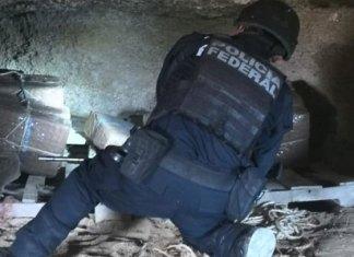 Hallan 70 kilos de mariguana en cueva de Reynosa