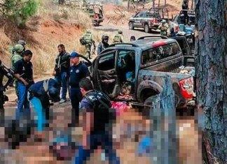 Introduce el título aquí Se enfrentan cárteles en Uruapan: 10 muertos