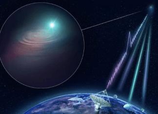 Rastrean onda de radio hasta una galaxia a 3.600 millones de años luz