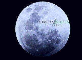 "Así luce la ""Luna Azul"" en Reynosa"