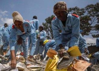 Derrumbe de escuela en Nairobi deja 7 niños muertos y 57 heridos