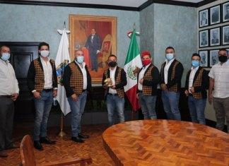 Banda Furiosizima agradecen al Presidente Municipal por el apoyo brindado