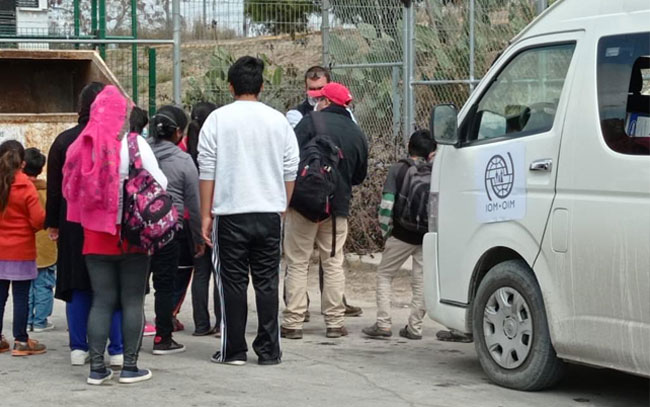 Estados Unidos dará acceso a migrantes del campamento de Matamoros