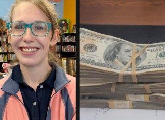 Mujer recibe recompensa por devolver más de 800 mil pesos que halló en suéter