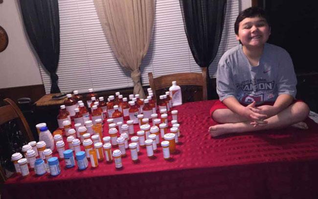 Niño llora al saber al venció el cáncer (Video)