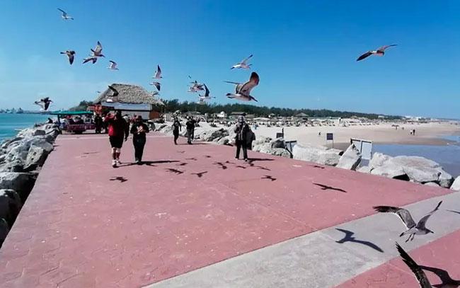 Recomiendan dejar Playa Miramar sólo a turistas en Semana Santa
