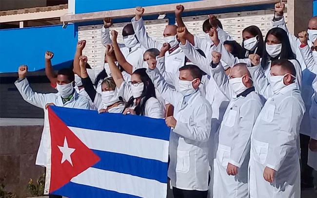 Agradece AMLO a Cuba por enviar médicos durante la pandemia